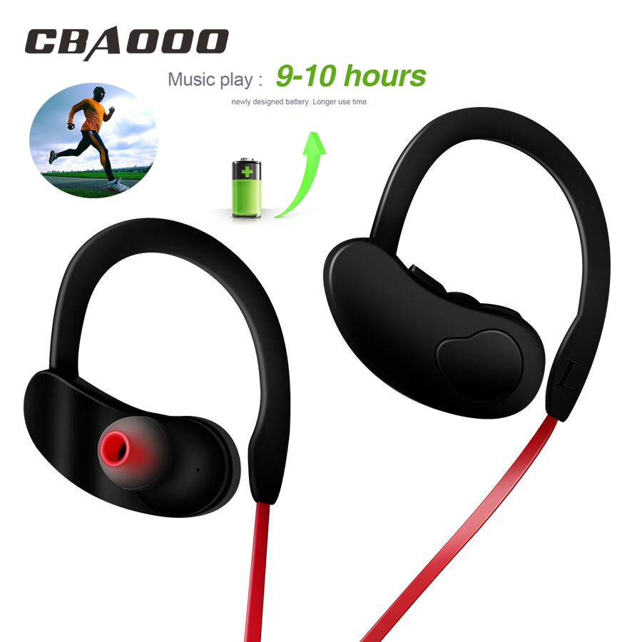 CBAOOO K100 Wireless Bluetooth Earphone Headphone Sport Bass Stereo Headset Wireless Earbuds Handsfree with Mic for Phone xiaomi 1pc pull type solenoid electromagnet dc 12v 16mm tubular solenoids with spring return hot sale