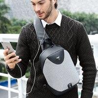 2018 New ARCTIC HUNTER Fashion Preppy Style Crossbody Bags Men Casual Messenger Bag IPad Small Brand