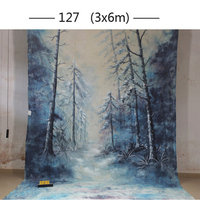 2017 10*20ft Hand Painted cloth photography background wedding,toile de fond studio photo 127, muslin scenic photo backdrops