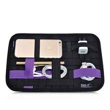 Borse di Stoccaggio borsa da viaggio Sacchetto Del Telefono Mobile Digitale per iphone 5 6 6 s cavo Sacchetto per la cuffia cari