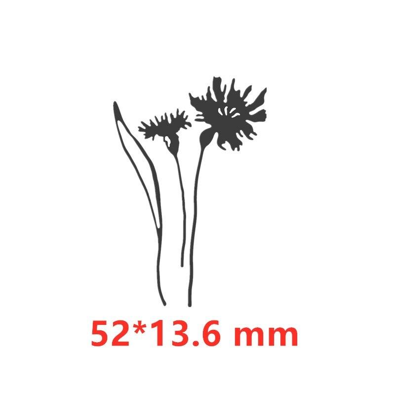 Васильковые травы эвкалиптовая ветка цветы металлические Вырубные штампы для поделок скрапбукинга бумажные открытки, декоративные поделки новые штампы - Цвет: Picture 14