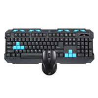 2.4Ghz Wireless Keyboard Mouse Combos MultiMedia wireless keyboard and mouse for pc Computer keyboards