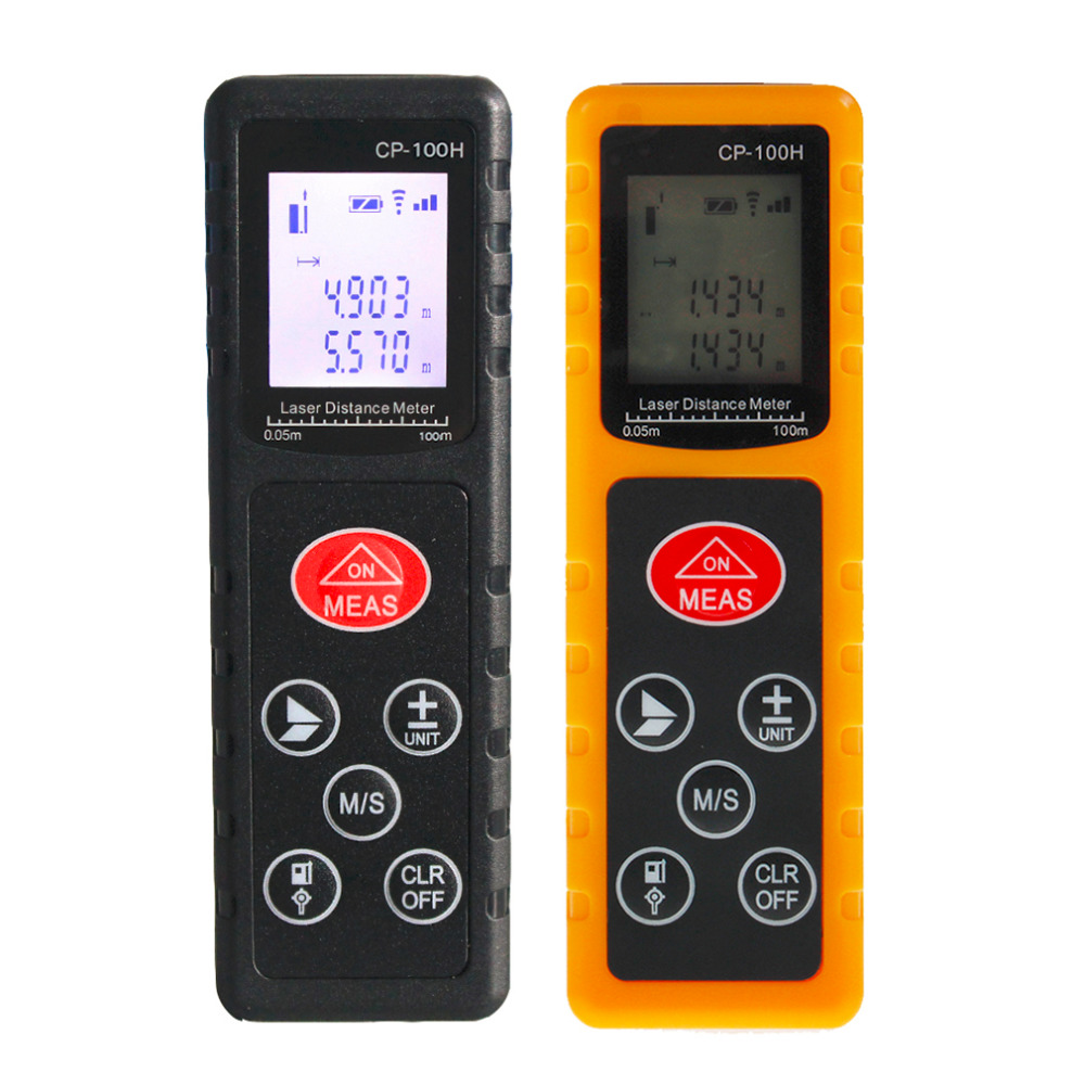 2017 NEW CP-100H Mini 100M Handheld Digital Laser Distance Meter Range Finder Diastimeter For Construction Industries  цены