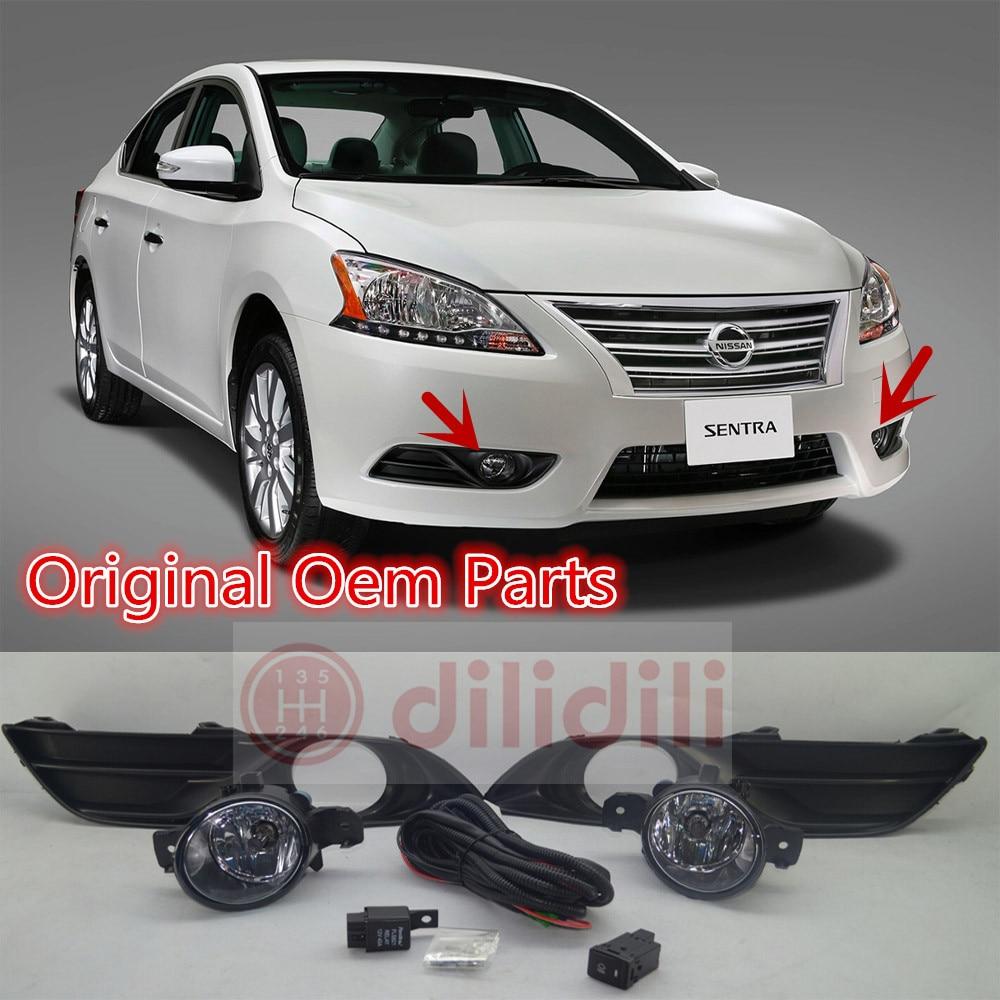 Rubber floor mats nissan sentra 2013 - Oem Fog Light Lamps Switch Harness Kit For Nissan Sentra Bluebird Sylphy 2013 2015