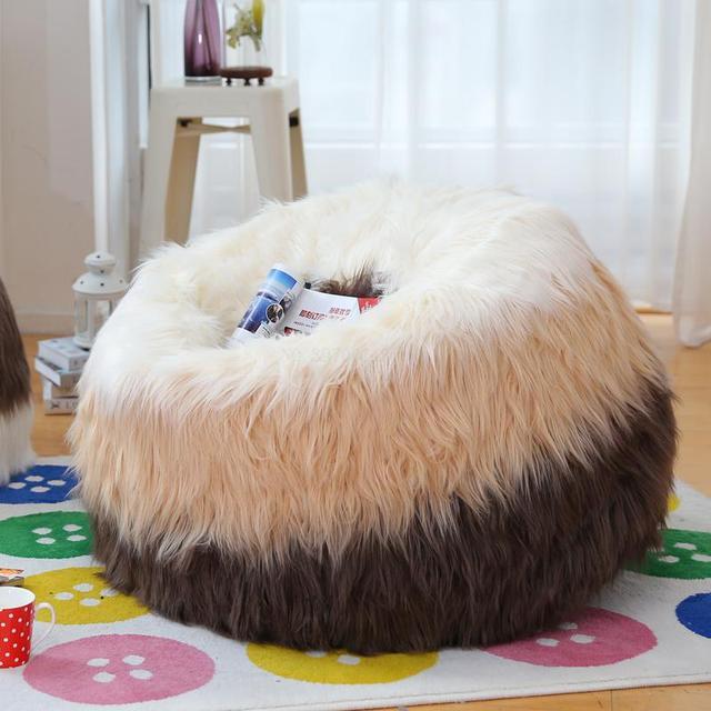Criativo antiga produção animal de pelúcia sofá preguiçoso único quente casa cadeira do sofá do saco de Feijão sofá cadeira do computador jogo de Chão