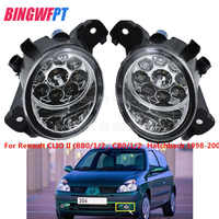 2PCS Angel Eyes LED Fog LIGHT Lights Refit For Renault CLIO II (BB0/1/2_, CB0/1/2_ Hatchback 1998-2004