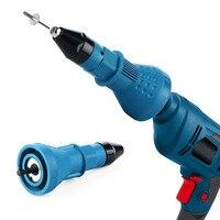 Electric Rivet Guns Pull Adapter Electric Pull Rivet Conversion Adapter Electric Rivet Nut Guns Riveting Drill