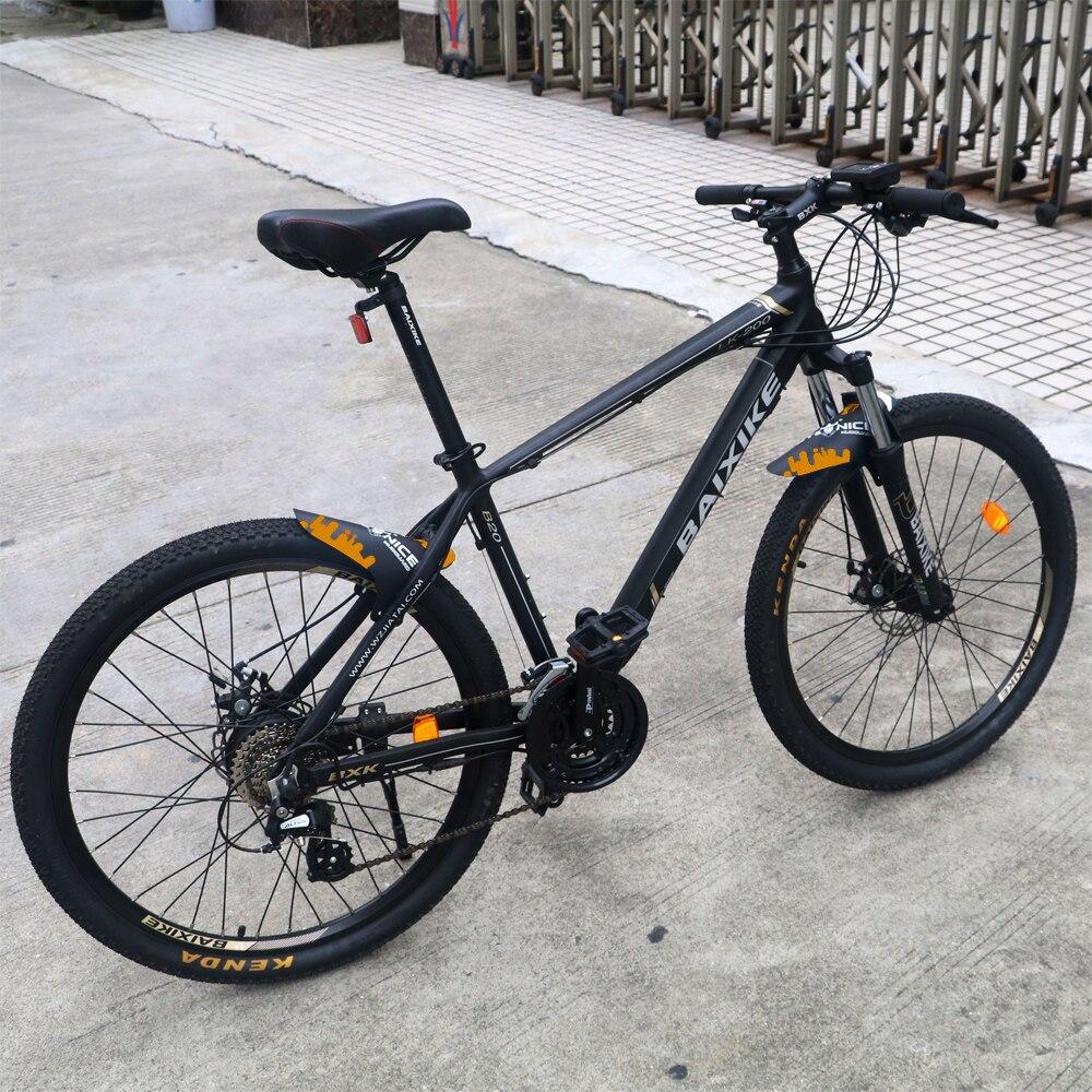 Garde-boue vélo de route garde-boue vtt garde-boue ailes pour garde-boue avant vélo garde-boue vélo le plus léger