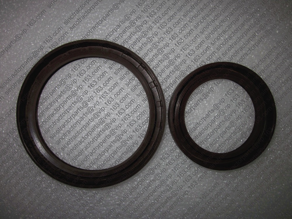 Huayuan Laidong KM385BT, front and rear crankshaft oil seals