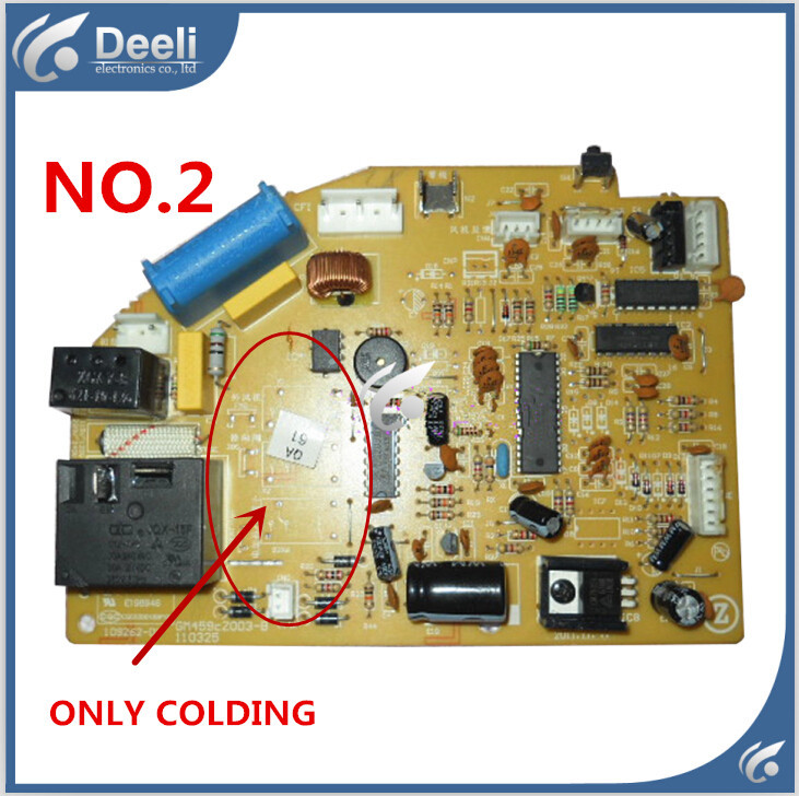 95% new good working for air conditioner motherboard pc board control board zgce-75-2d gm459cz003-b 110325 on sale 95% new good working for air conditioner control board pc board db93 01444d good work
