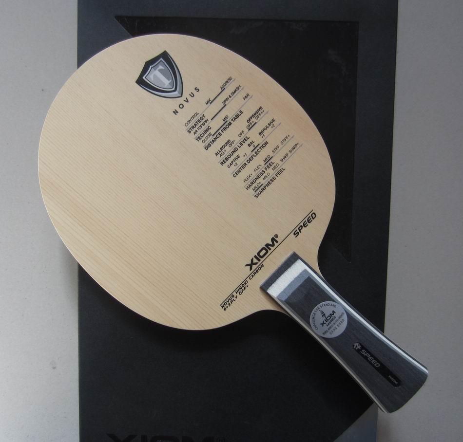 Оригинальный Xiom скорость настольный теннис лезвие ракетка спорт Настольный теннис ракетки Крытый спортивный лучший углерода лезвие