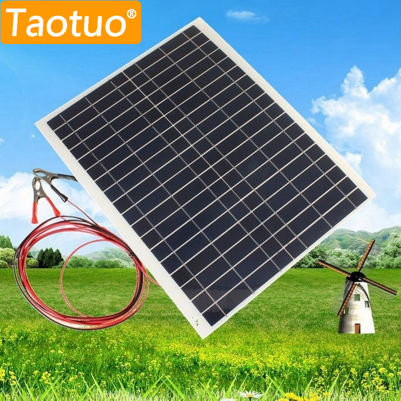 20W 12V Polycrystalline Silicon Solar Panel Semi Flexible Solar Board Power Generater For Battery RV Car Boat Aircraft Tourism 12v 30w solar panel polycrystalline semi flexible solar battery for car boat emergency lights solar systems solar module page 2
