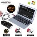 Rojo Nuevo Endoscopio 8mm HD USB Android Cámara 2 M 5 M 10 M OTG 720 P Inspección Boroscopio Impermeable Mini USB PC Cámara de un Teléfono Android