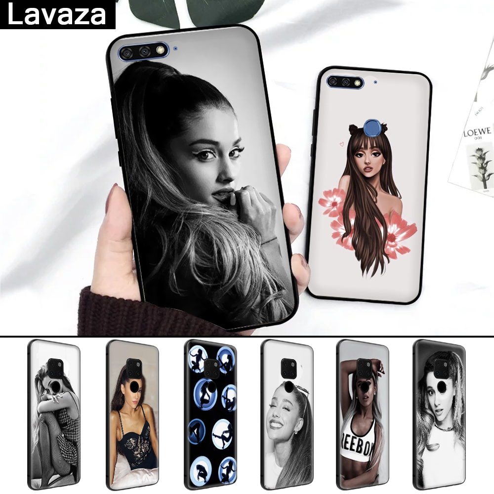 Half-wrapped Case Cellphones & Telecommunications Sweet-Tempered Lavaza Cat Ar Ariana Grande Novelty Silicone Case For Huawei Mate 10 Pro 20 Lite Nova 2i 3 3i Y6 Y5 Y9 2019 Y7 2017 Prime 2018