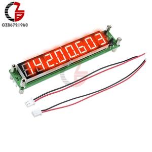 Image 2 - Contador de frecuencia de señal, medidor de temperatura de tubo Digital de 8 dígitos, RF 0,1 a 60MHz 20MHz a 2400MHZ 2,4 GHz rojo verde azul