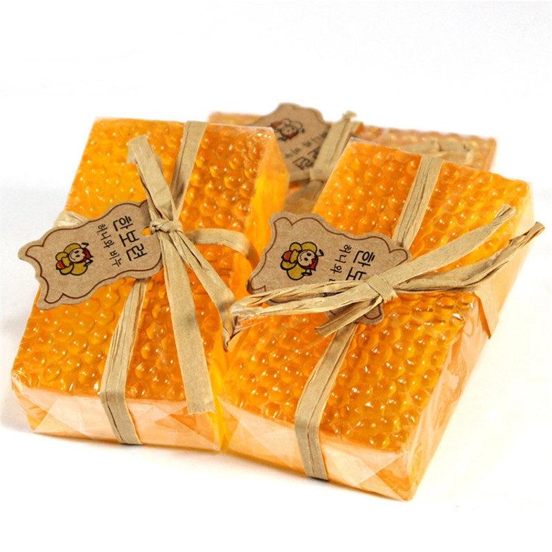 100g Honey Kojic Acid Soap Handmade Whitening Soap Face Care Replenishing Natural Bath Body Skin Care Deep Cleaning Arbutin Soap