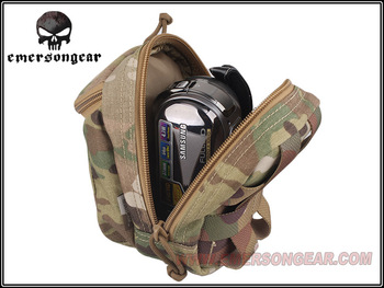 EDC Digital Camera Waist Bag Molle Military Airsoft Combat Gear EM8349 MULTICAM Black Coyote FG ATFG Pouch