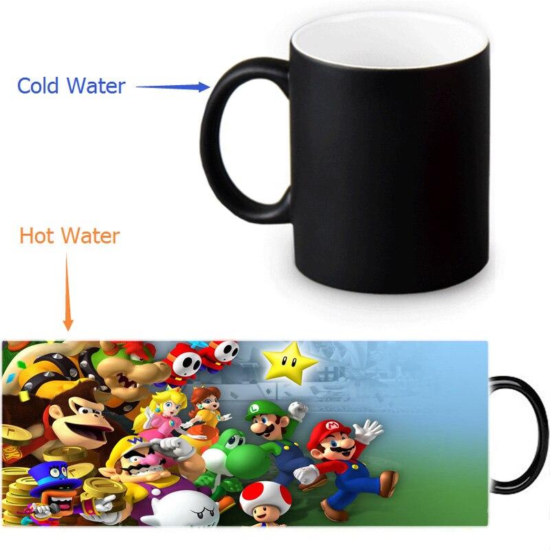 Us15 Garden custom Mugs Homeamp; Hot Tea Mug 12 Morphing Sensitive 74 Heat Mario Milk Ceramic 25Off From Super Color Oz Coffee Cold Changing In 1clKFJ