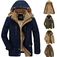 M 5XL Hooded Men Winter Jacket 2018 New Fashion Warm Wool Liner Jacket and Coat Windproof Male Parkas casaco XXXXXL erkek mont