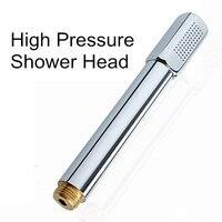 100% ראש מקלחת כף יד הטובה ביותר פליז ראש מקלחת בלחץ גבוה צינור 1.5 m