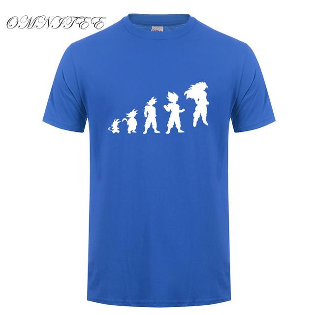 Saiyan Evolution T-Shirt Dragon Ball Caveman Goku