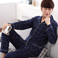 2016 winter men's christmas pajama set men adult family pajamas set sleepwear nightwear pyjamas set fashion sleepwear
