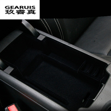цена на Car styling central storage box armrest remoulded car glove storage box cover For Mercedes Benz GLA X156 CLA A C Class W205 GlC