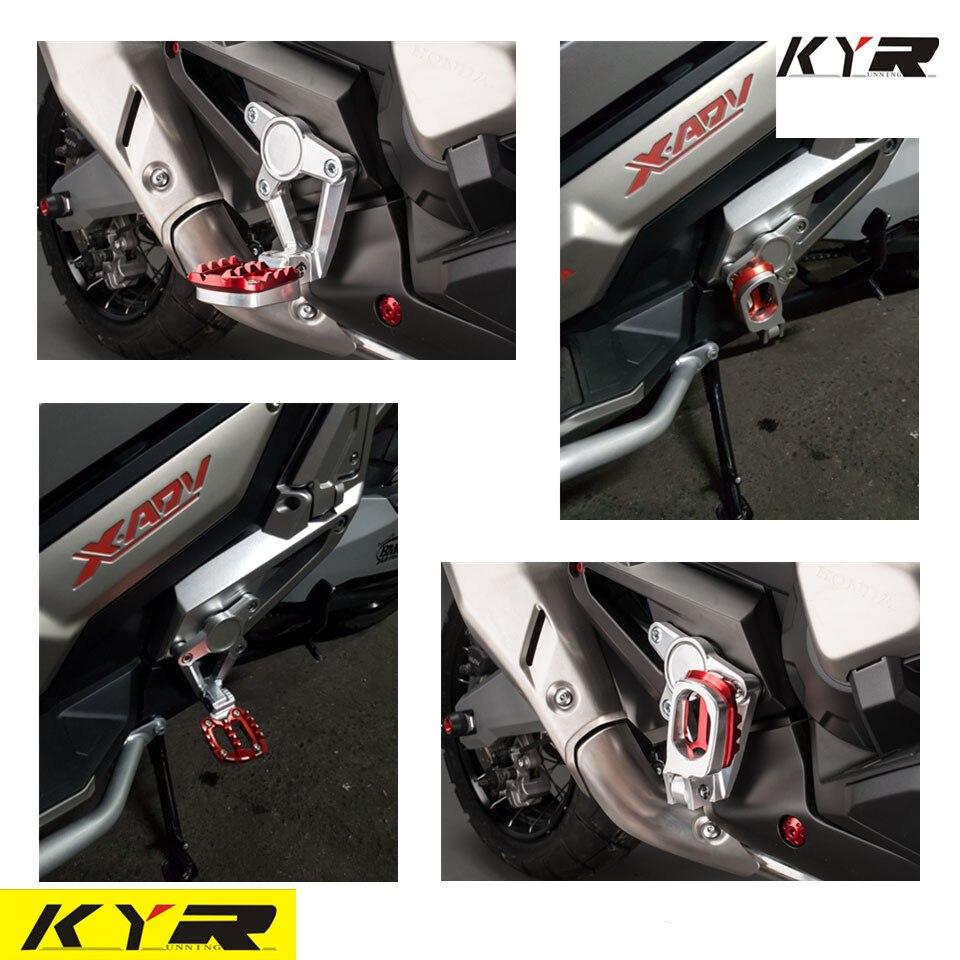 FOR HONDA XADV X ADV X-ADV 750 2017-2018 Motorcycle Accessories Folding Rear Foot R Footrest Passenger