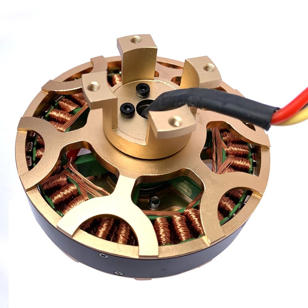 1pc 8028 Swiss Motor Brushless Outrunner Motor Strong Power Supply 165KV High Torque High Power High Speed Brushless Motor
