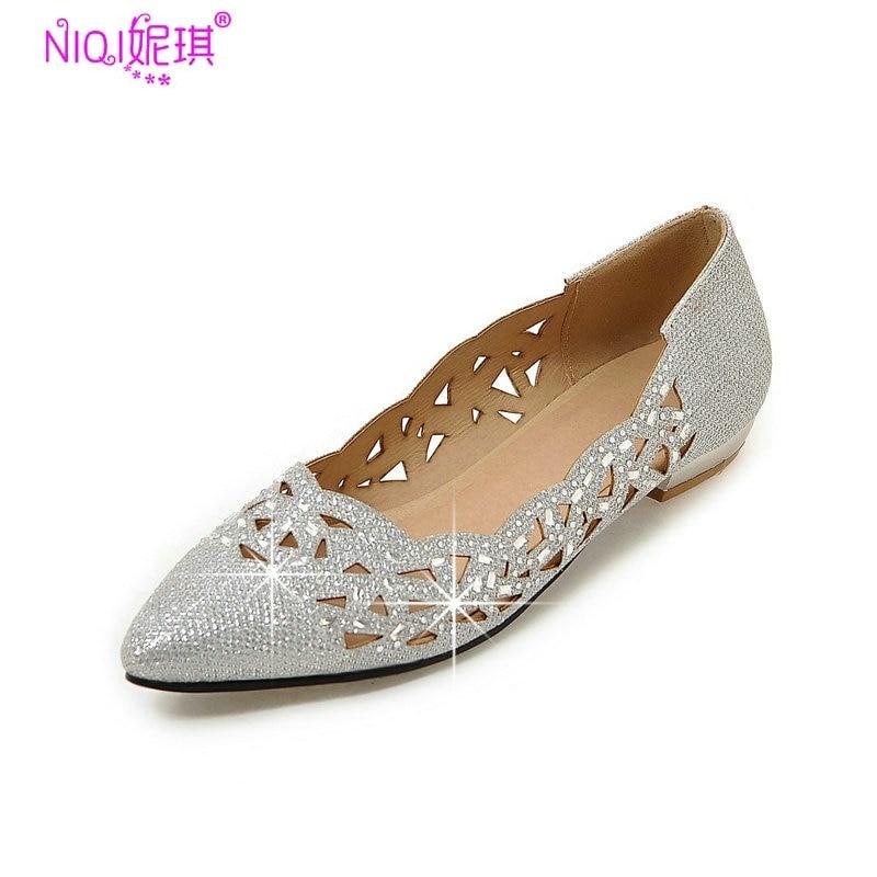 Online Get Cheap Silver Low Heels -Aliexpress.com   Alibaba Group