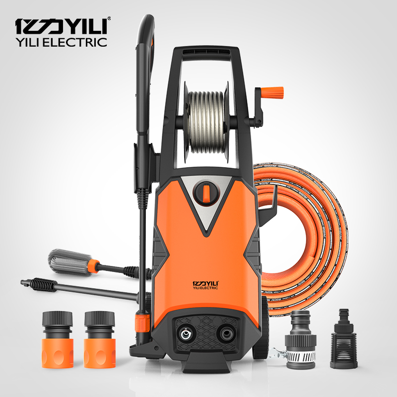 Power Washing Machine >> Us 12 0 220v 50hz Brushless Induction Motor High Pressure Washing Machine Portable Car Washer Floor Cleaning 1800w 100 140bar 6 5lpm In Pumps From