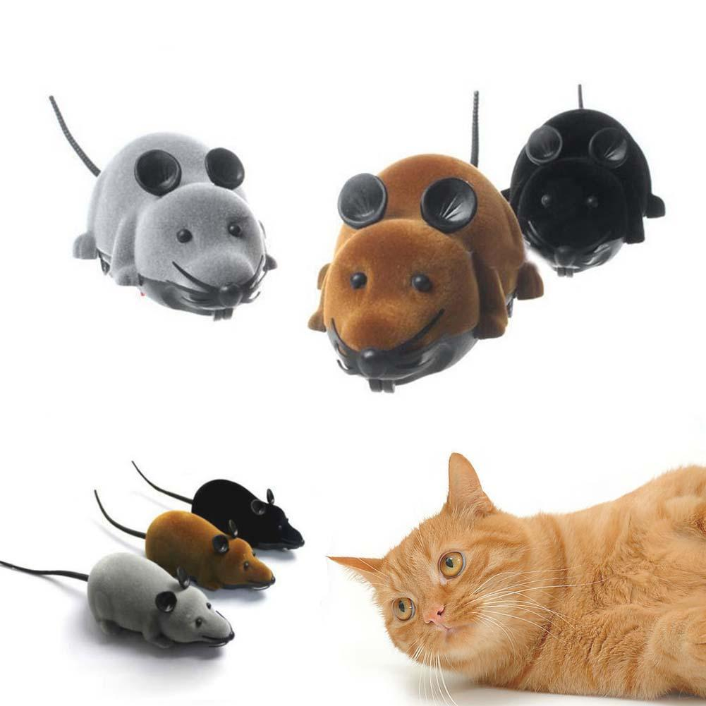 Wireless Remote Control RC Electronic Rat Mouse Mice Toy For Cats Puppy Gifts