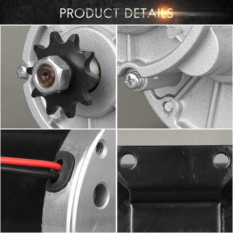 UNITEMOTOR Kit Électrique DC Moteur de la Brosse MY1020Z 450 w 24 v 36 v 48 v Vitesse Ralentir Tricycle Moto Quad voiture Accessoires Cycle