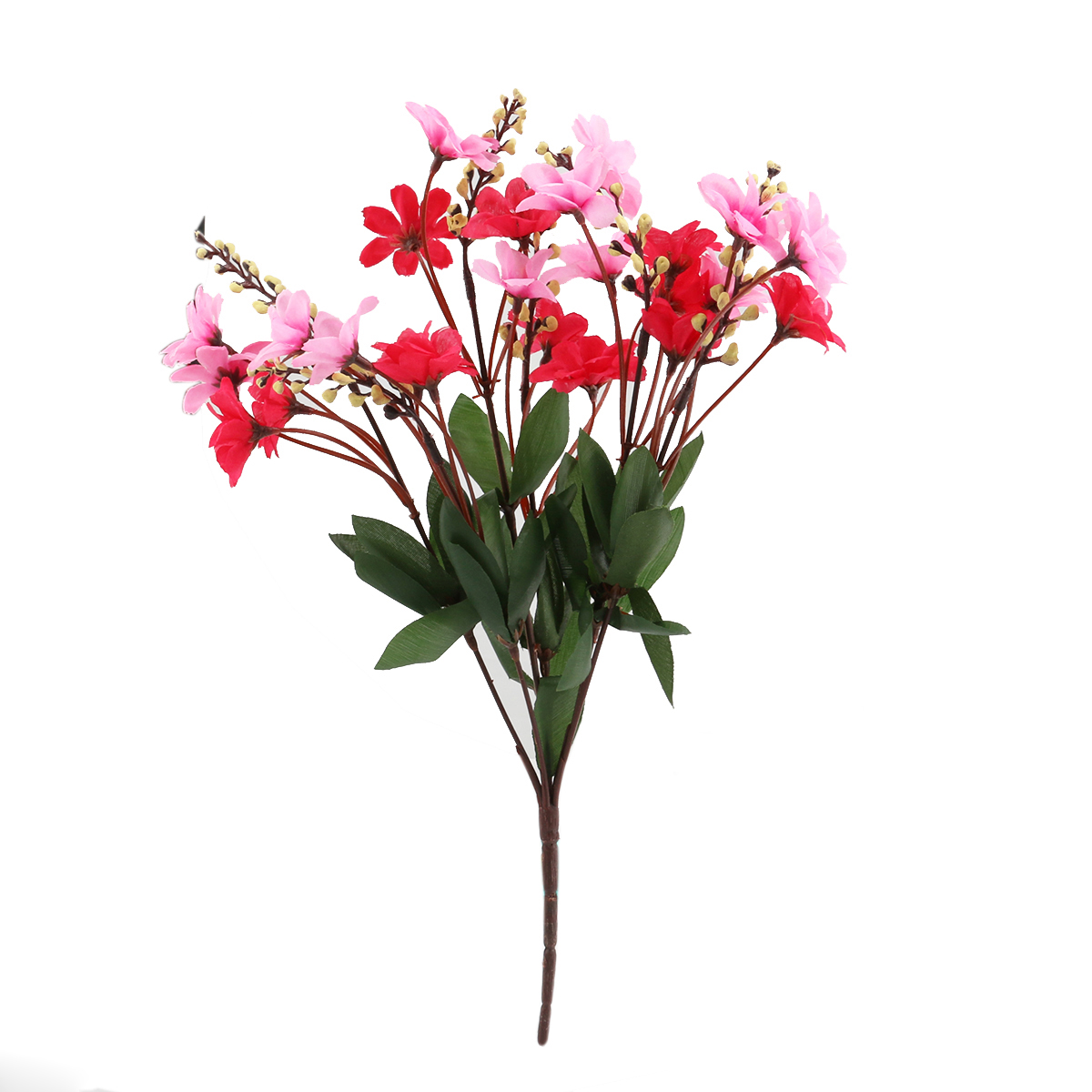 Red daisy flower promotion shop for promotional red daisy flower hot hot bunch of artificial daisy flower bouquet for home office party decoration rose redpink dhlflorist Gallery