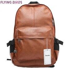 FLIEGEN-VÖGEL! Mochila rucksack herren reisetaschen rucksack schultaschen leder hohe qualität rucksäcke teenager LM0330