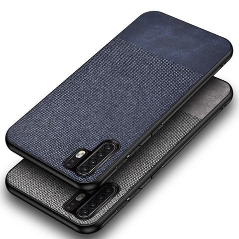 Cotton Cloth Case For Huawei P30 Pro Lite Mate 20 Pro Fabric Back Cover Huawei P30 Pro Case Huawei P30 Lite Case fundas coque On Lahore
