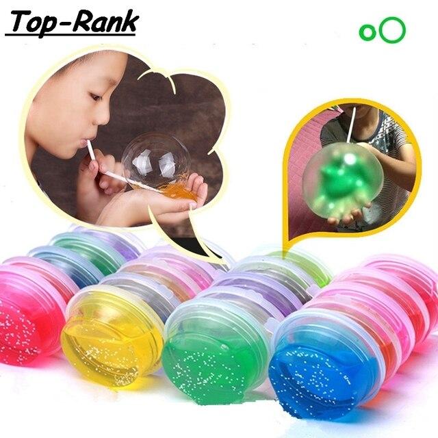 DoDoLu 400g Polymer Plasticine Modelling Clay Air Dry Playdough Light DIY Soft Creative Handgum Toys DIY Transparent Crystal Mud