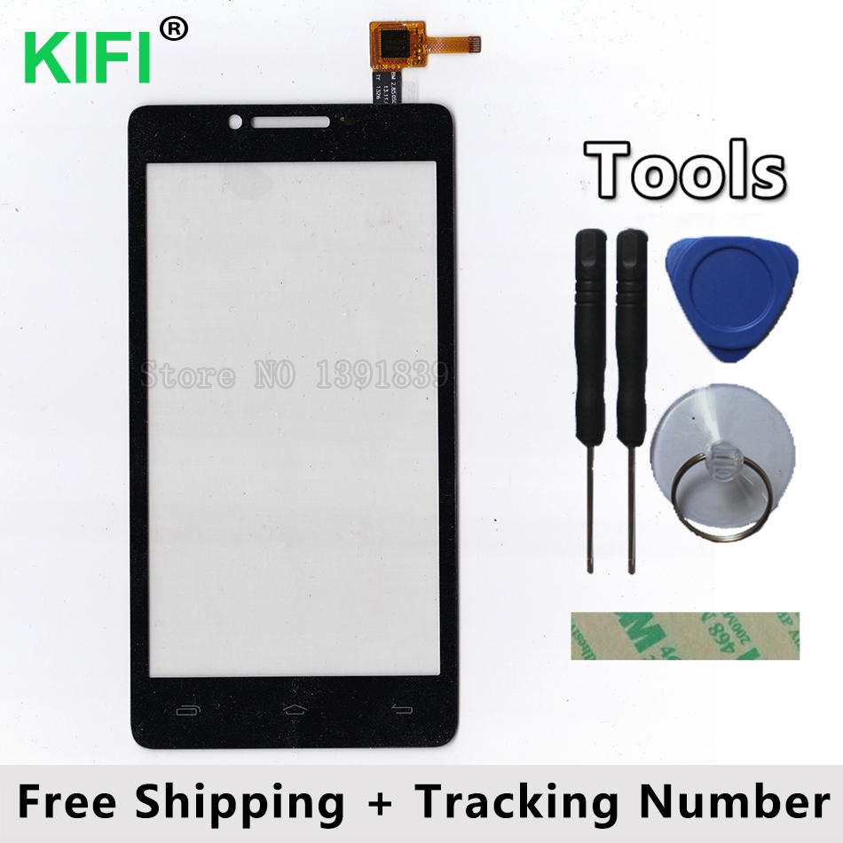 KIFI 100% QC PASS Touch Screen Digitizer Glass Panel For Prestigio MultiPhone PAP5500 PAP 5500 DUO