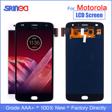 Pantalla OLED de 5,5 para Motorola Moto Z2 Play LCD reemplazo de pantalla táctil para Moto Z2 Play Display XT1070 negro