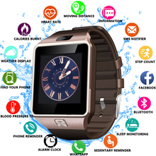 Hot DZ09 Smartwatch Smart Watch Digital Men Watch For Apple iPhone Samsung Android Mobile Phone Bluetooth SIM TF Card Camera