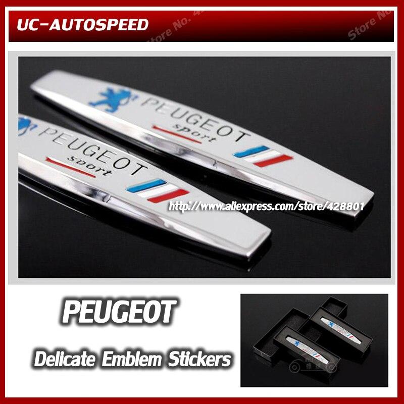 New Auto car 3D leaf type aluminum alloy metal emblem
