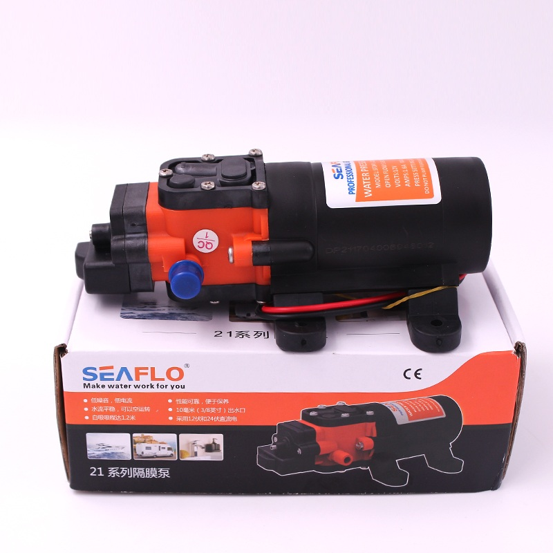 SEAFLO 35 PSI 12V 24V Marine Water Pump Diaphragm Pump Boat Accessories Showers Toilets