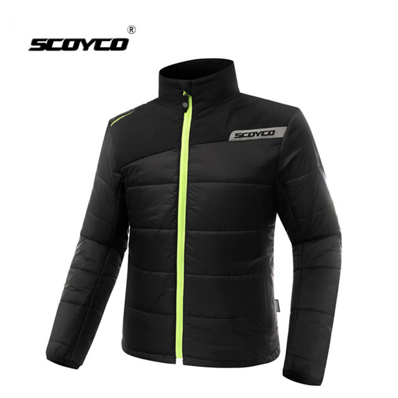 SCOYCO Motorcycle Jacket Fashion Winter Windproof Cold-proof Motocross Racing Jackets Off Road Knigt Protective Gear Clothing scoyco motorcycle jacket wearable leather windproof motorbike suit drop resistance motocross racing clothing protection jackets