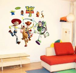 Toy Story Wall Sticker Removable Art Vinyl Decals Kids Nursery Decor LZ/