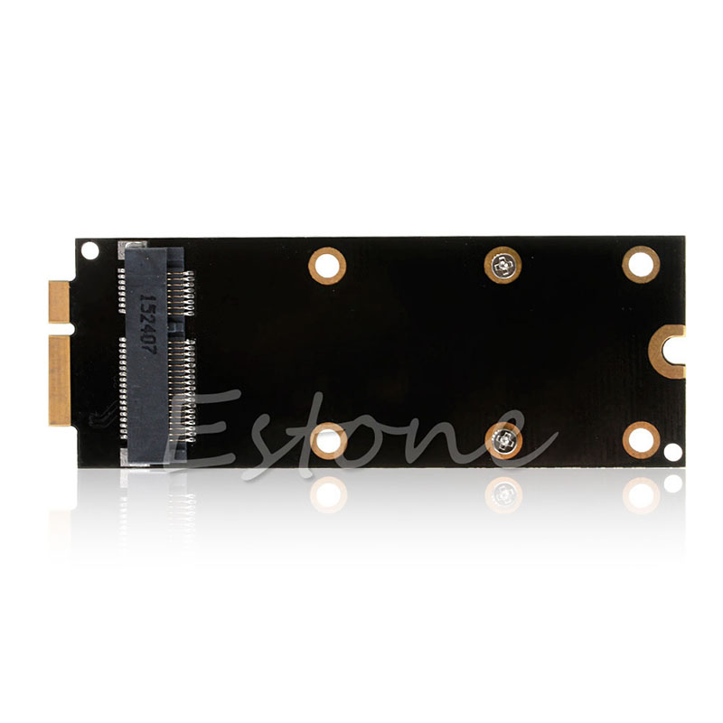 7+17 Pin MSATA SSD To SATA Adapter Card For 2012 MacBook Pro A1398 A1425 MC976 New And High Speed