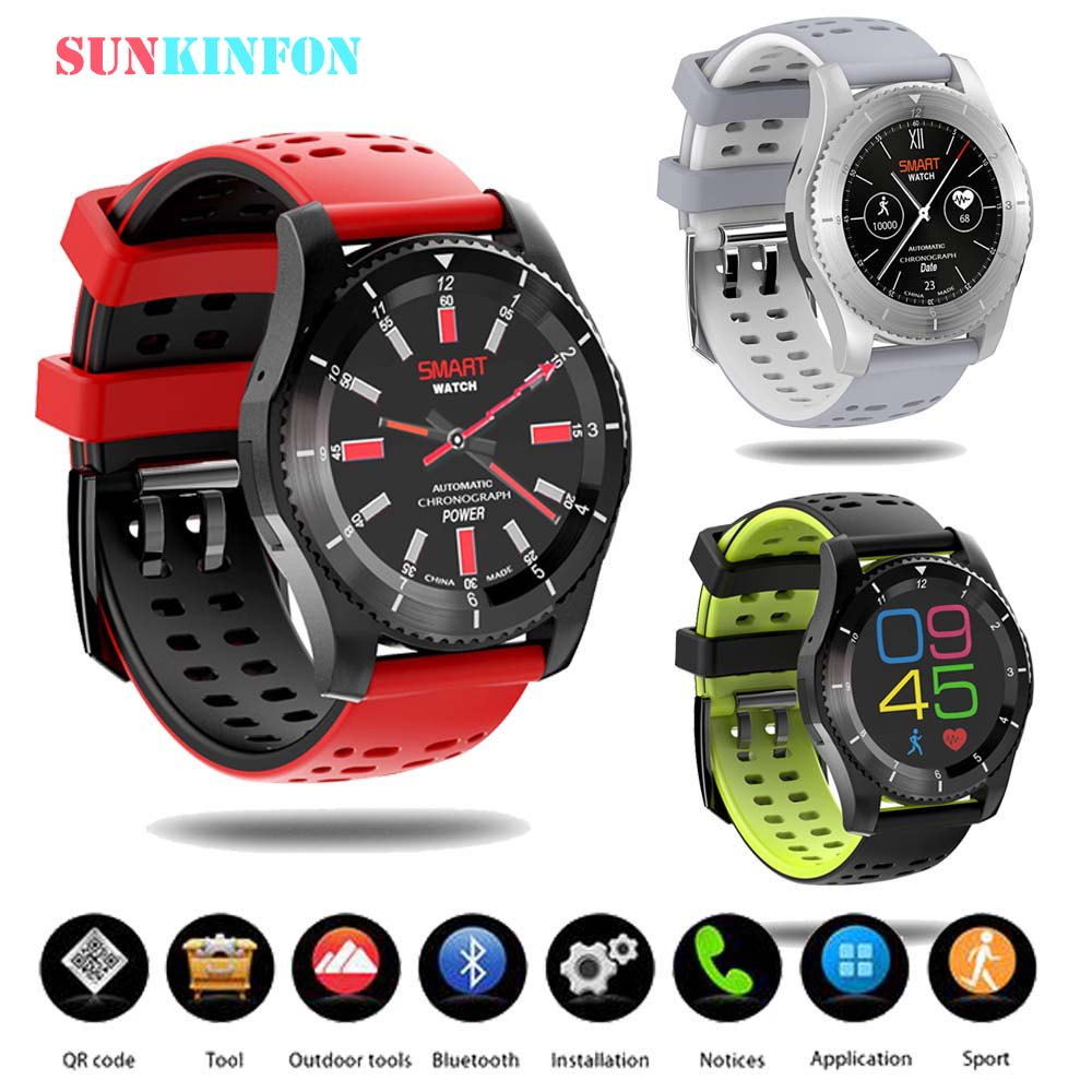 цена 2018 NEW DT NO.1 Smart Watch Phone GS8 Bluetooth 4.0 Sport Wristwatch With Heart Rate Pedometer Support SIM Card for iOS Android