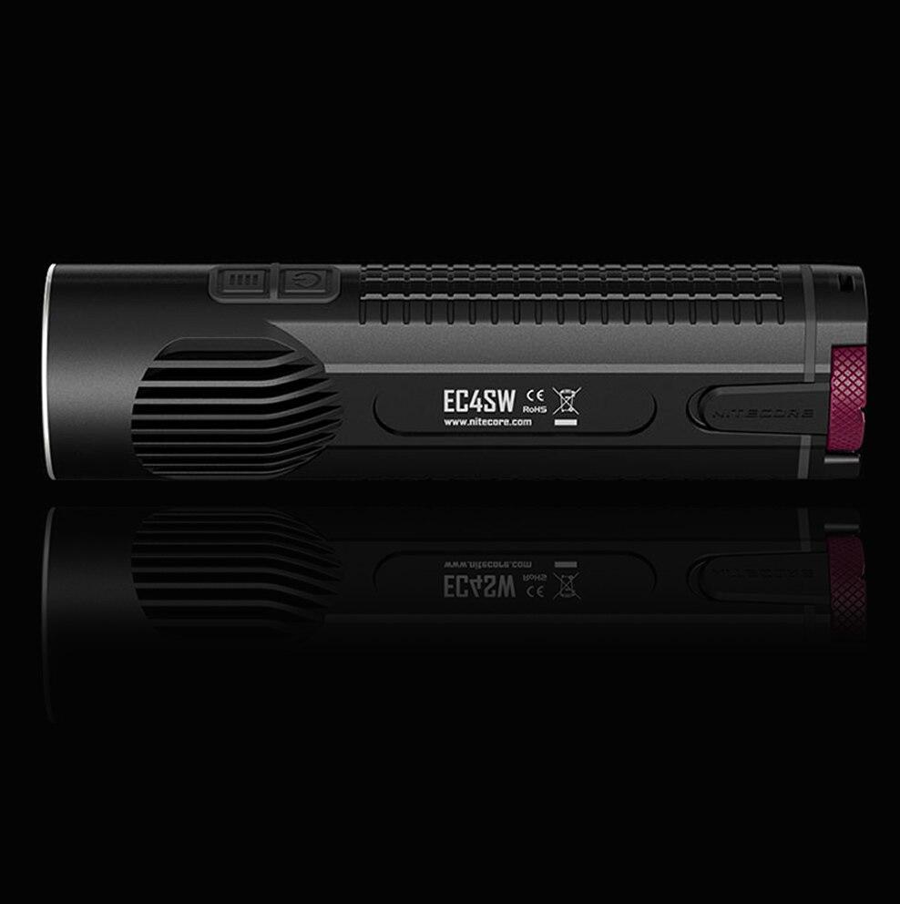 20% OFF NITECORE EC4S EC4SW 2000Lm lumière blanche neutre pratique Portable Super lumineux XHP50 émetteur lampe de poche torche chasse en plein air