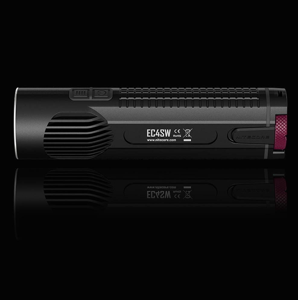 20% OFF NITECORE EC4S EC4SW 2000Lm нейтральный белый светильник удобный Портативный супер яркий XHP50 излучатель вспышка светильник фонарь для охоты на открытом воздухе