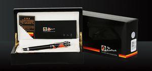 Image 3 - Pimio picasso dolma kalem 10k altın uçlu High end iş ofis hediye kutusu sanat ps 80 vidalı kapak moda rahat dolma kalem s
