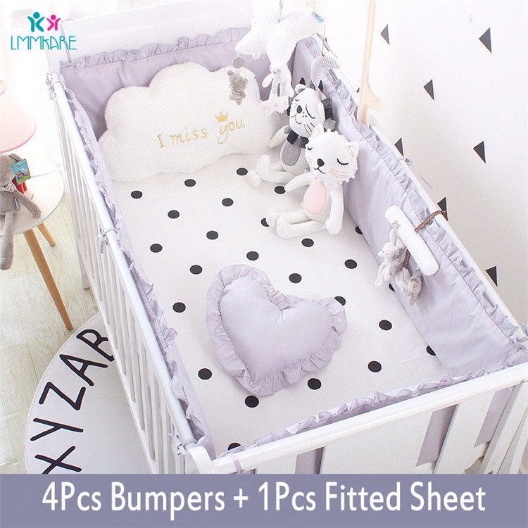 5Pcs-Baby-Breathable-Crib-Bumper-Pad-Oval-Bed-Crib-Liner-Set-for-Baby-Boys-Girls-Safe(4)